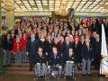 Торжественная церемония проводов сборной команды России на X зимние Паралимпийские игры в Ванкувере