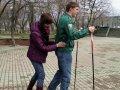 """""""На лыжах по асфальту"""" в поддержку спорта! Флеш-моб акция прошла во Владивостоке"""
