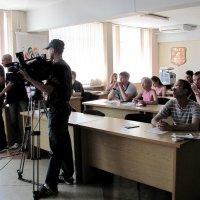 Пресс-конференция матч-рейс «Кубок Семь Футов»