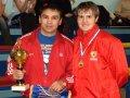 Две звезды российского бокса встретились в Находке