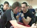 Любительский турнир по армспорту выявил лучших из 40 спортсменов. Видео