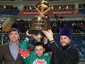Команда юных сахалинцев - обладателей Кубка Патриарха Всея Руси вернулась домой из Москвы. Фоторепортаж