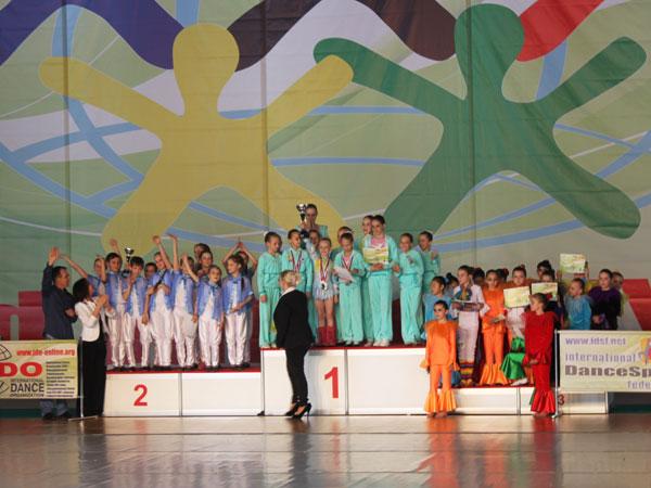 Две победы на всемирной танцевальной