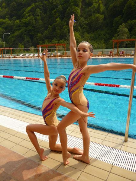 Синхронное плавание девушки фото