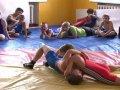 В Приморье открылся еще один спортзал для тренировок по греко-римской борьбе. Видео