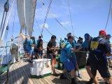 Экипаж парусника «Паллада» провел спортивные состязания в Вунгтау