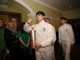 Во Владивостоке прошла торжественная церемония передачи Огня Универсиады в Хабаровск. Фото