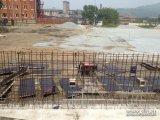 Глава города Игорь Пушкарёв потребовал от подрядчиков ускорить темпы строительства пришкольных стадионов