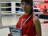 Елена Полякова – призер открытого чемпионата по боксу