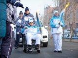 Первый факелоносец дал старт Эстафете Паралимпийского огня в Приморье. Видео