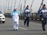 Уссурийские спортсмены приняли участие в Эстафете Паралимпийского огня