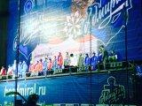 «Вишенки» исполнили гимн России для хоккеистов и болельщиков