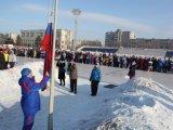 В Арсеньеве авиастроители провели заводскую зимнюю спартакиаду. Видео
