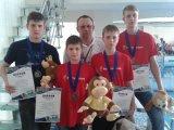 Арсеньевцы вернулись с медалями открытого первенства Уссурийского городского округа по плаванию «Уссурочка»