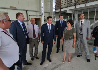 Современный спорткомплекс в Спасске-Дальнем достроят в этом году