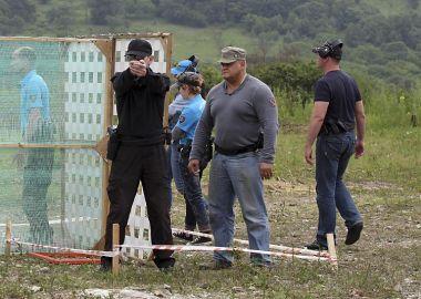 Врио главы Находки Олег Колядин настрелял на «бронзу» на краевом чемпионате