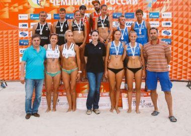 «Пляжница» «Приморочки» Ольга Мотрич выиграла два этапа чемпионата России