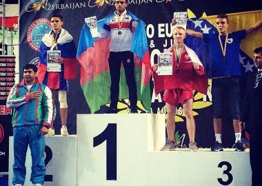 Приморец Максим Черненко – серебряный призер Первенства Европы по кикбоксингу