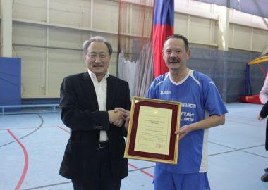 Международный матч завершился победой артемовцев