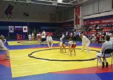 Во Владивостоке прошел международный турнир по самбо и сумо
