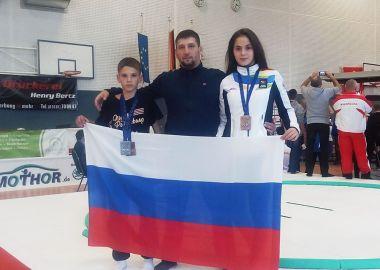 Юные приморские борцы завоевали медали Первенства Европы по сумо