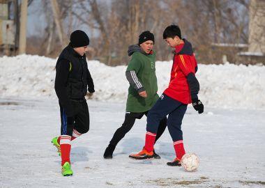В зимней Спартакиаде сельских поселений Спасского района победила дружба