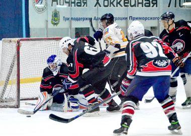 «Спарта-Вольфрам» - обладатель «Утешительного кубка» Ночной хоккейной лиги Приморья