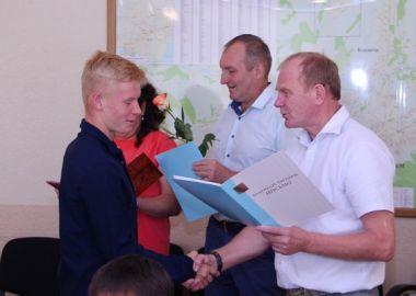 В Артеме за высокие спортивные достижения наградили спортсменов