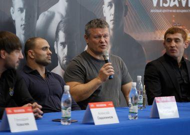Пресс-конференция и взвешивание участников турнира «New Generation» прошли во Владивостоке