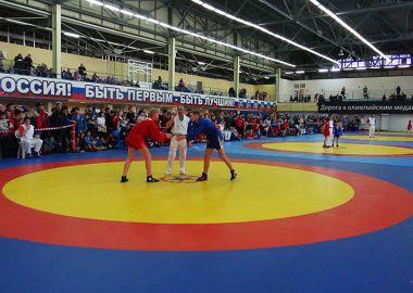 Детский международный турнир по самбо прошел в приморском Артеме