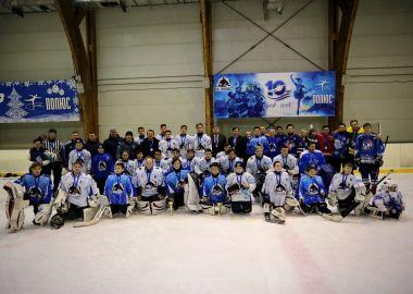 Спортивный праздник прошел в ледовой арене «Полюс»