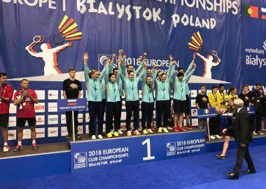 Команда «Приморье» завоевала Кубок Европейских чемпионов по бадминтону