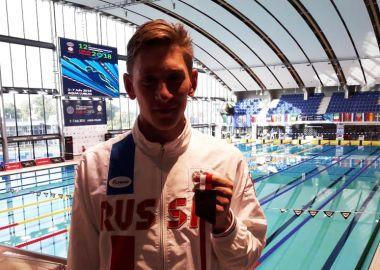 Пловец Виталий Оботин завоевал шесть золотых медалей на Чемпионате Европы по плаванию