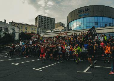 Владивосток разбудил всю Россию: беговой флешмоб #НебудьКакГриша