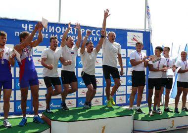 16 медалей завоевали приморские гребцы на Чемпионате России