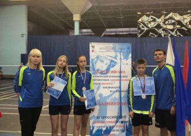 Юные бадминтонисты из Приморья выиграли шесть медалей на Всероссийских соревнованиях
