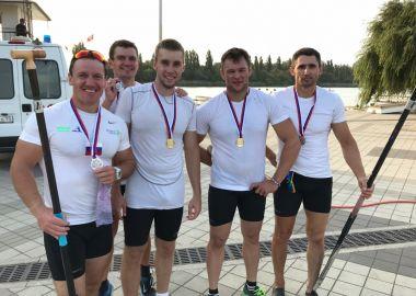 Три золотые и три бронзовые медали завоевали приморские гребцы на Чемпионате России