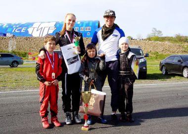 Альвина Борисова в пятый раз завоевала титул чемпионки Владивостока по картингу