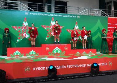 Приморские самбистки стали призерами престижных турниров