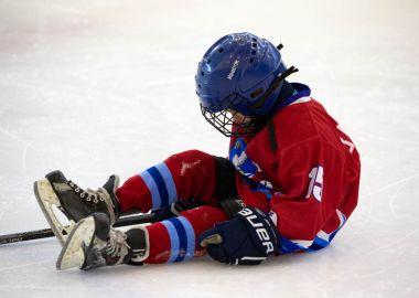 На лед вышли самые маленькие воспитанники хоккейных школ Приморья