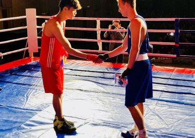 Международная матчевая встреча по боксу Россия - Республика Корея прошла в Большом Камне