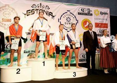 Юные приморские борцы сумо выиграли семь медалей на Первенстве Европы