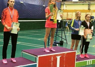 Приморская спортсменка выиграла «бронзу» на первенстве России по бадминтону