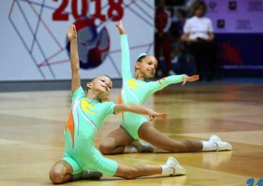 Спортсмены приморской федерации спортивной аэробики выступили в Москве