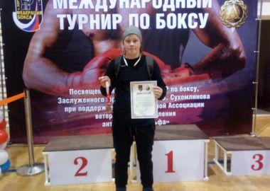 Приморская спортсменка выиграла «серебро» на всероссийском турнире по боксу