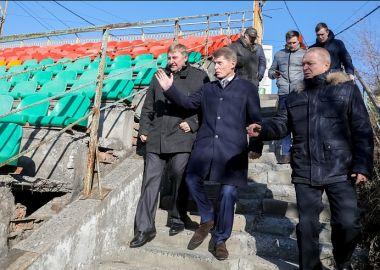 Более 150 миллионов рублей направили на реконструкцию стадиона «Авангард»