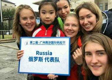 Женский экипаж из Приморья занял четвертое место в международной регате