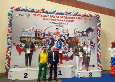 Приморская спортсменка выиграла «серебро» Чемпионата России по тхэквондо