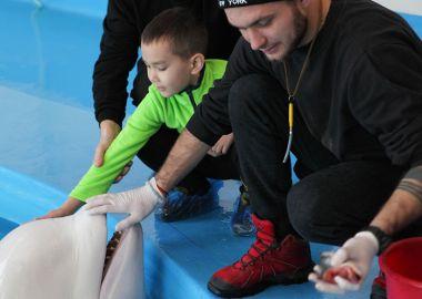 Благотворительная акция прошла в Приморском океанариуме