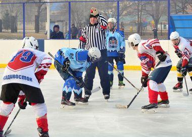 Ночная хоккейная лига Приморья провела гала-матч «Студеный лед» в Артеме